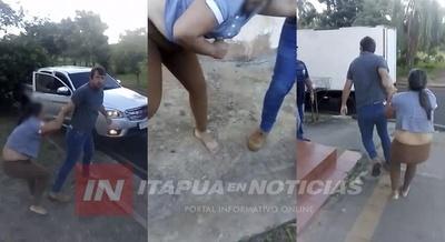 AGRESOR TERMINÓ TRAS LAS REJAS EN B° JARDÍN DE CAMBYRETÁ
