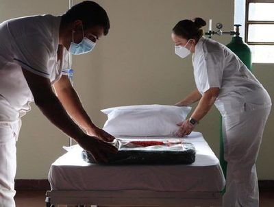 Habilitan pabellón para pacientes con covid-19 en Mariano Roque Alonso · Radio Monumental 1080 AM