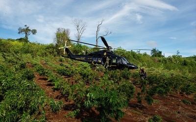 Generan pérdidas de U$S 57 millones al crimen organizado, en operación conjunta entre Paraguay y Brasil