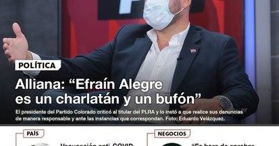 La Nación / LN PM: Las noticias más relevantes de la siesta del 31 de marzo