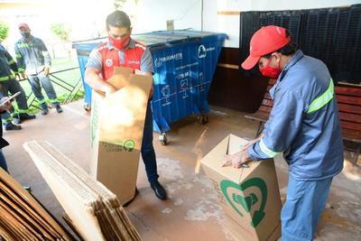 Concretan alianza entre comuna y empresa recicladora