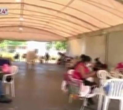 Luque: Familiares de pacientes con covid no tienen agua potable