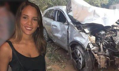 La borracha del volante que  mató a joven madre que esperaba bus, sale de la cárcel