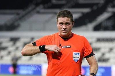 Samaniego no pasó la prueba física de los árbitros con insignia FIFA