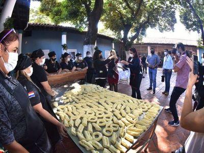 Más de 1.000 chipas elaboradas en  Buen Pastor llegan  a los hospitales