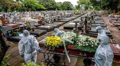 Brasil se acerca a las 4.000 muertes diarias por COVID-19
