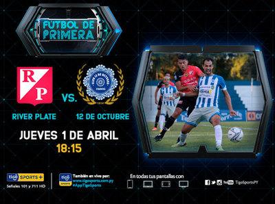 River Plate y 12 de Octubre dan inicio a la segunda rueda
