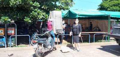 Villarrica: Donan una heladera para familiares de internados