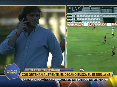 Cristian Domínguez ve a un Olimpia evolucionado en todo sentido