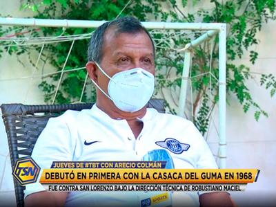 Arecio Colmán y su inolvidable hazaña con el club de sus amores