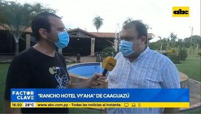 """Rancho Hotel Vy'aha"" de Caaguazú"