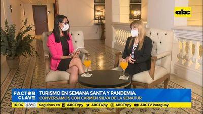 Turismo en Semana Santa y pandemia: desde la Senatur