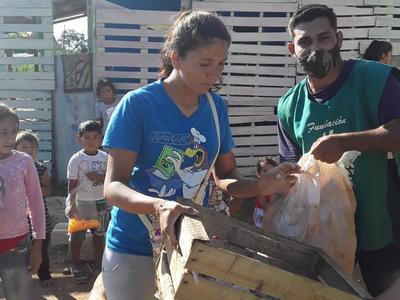 Remar Paraguay reparte alimentos en las zonas más vulnerables de Asunción
