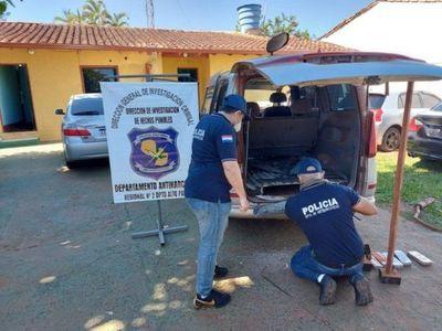 Capturan a dos hermanos con 51 kilos de marihuana en Minga Guazú
