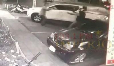 Brasileño es víctima del robo de su camioneta