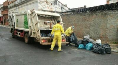 Este fin de semana no habrá recolección de basuras en Asunción