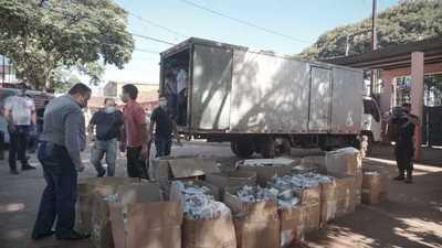 Más de 1400 chipas entregadas a penitenciarias y 550 kits de ingredientes fueron donados por el Shopping Paris