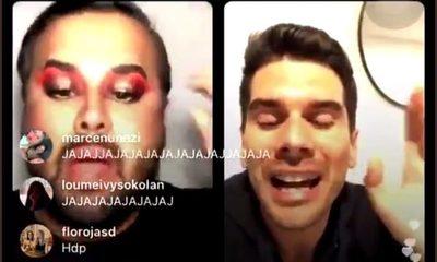 "A político le salió lo ""machito"": ""Que va saber de respeto alguien que se maquilla"", he'i (video)"