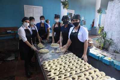 Personas privadas de libertad donan chipas a familiares con covid-19