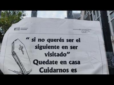 Fuerte mensaje en portón de cementerio: ''Si no querés ser el siguiente en ser visitado''