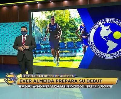 Almeida prepara su debut con Sol de América