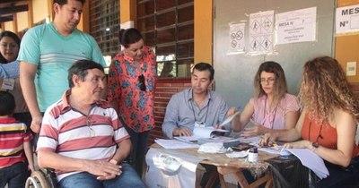 La Nación / Voto accesible está disponible en 12 ciudades del país