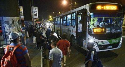 Consejo de Tarifa todavía no tomó decisión sobre pasaje