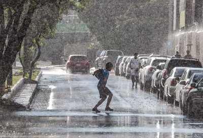 Lluvias dispersas en el norte del país