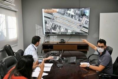 Reunión de trabajo para puesta en marcha de plan de educación vial del multiviaducto