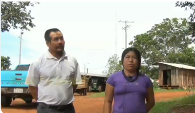 Refuerzan sistema de distribución eléctrica en comunidad indígena Aché de Naranjal