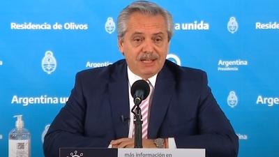 Alberto Fernández anunció que está con Covid-19