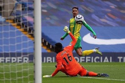 West Brom, penúltimo de la Premier, golea al Chelsea y corta el invicto de Tuchel