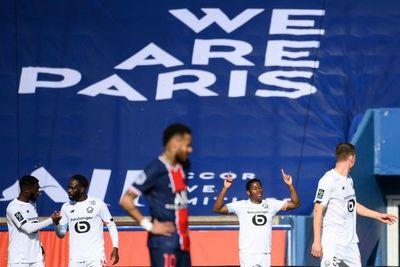 PSG: derrota contra el Lille y roja de Neymar