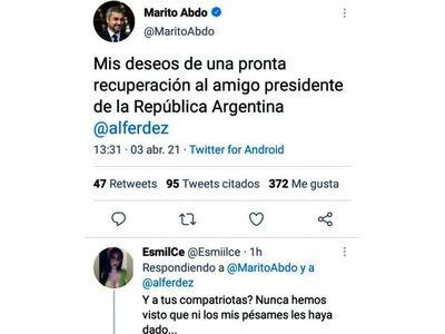 Marito sigue en su letargo y es cada vez más repudiado por la ciudadanía