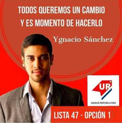 Conocé a tu candidato: Ygnacio Sánchez (Pre candidato a Concejal por Asunción)