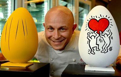 Los huevos de pascua que ahora son obras de arte