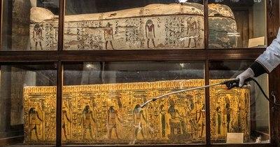La Nación / Misión arqueológica egipcio-dominicana descubre momias con lenguas de oro cerca de Alejandría