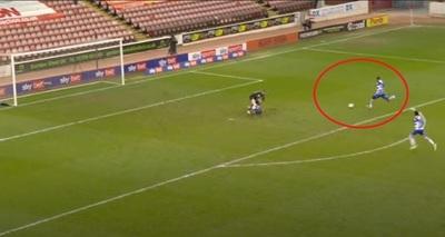 Un error poco creíble en el fútbol inglés