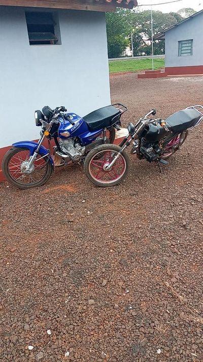 Incautan motos en carrera clandestina en Yguazú