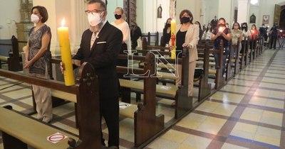 La Nación / Celebraron la misa de Pascua en el Hospital de Clínicas