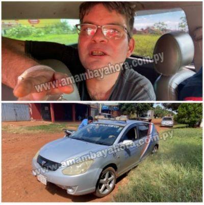 Recuperan vehículo robado de una funeraria en PJC