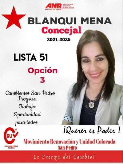 Conocé a tu candidato: Blanca Mena (Pre Candidata a Concejal de San Pedro)