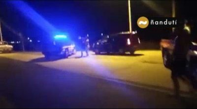 Detienen a dos hombres tras supuesta agresión a personal de la Patrulla Caminera