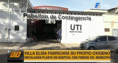 Villa Elisa fabricará su propio oxígeno