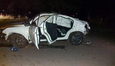 Adolescentes de 14 años ocasionan accidente en San Bernardino
