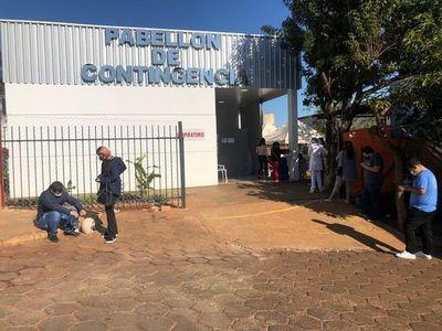 Camas en hospitales de contingencia están ocupadas en su totalidad