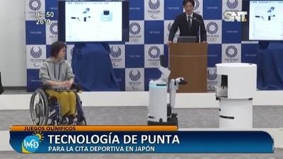 La tecnología para los Juegos Olímpicos Tokio 2020