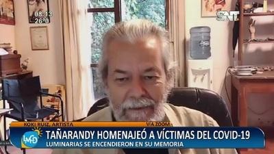 Tañarandy: Luminarias en homenaje a las víctimas del Covid-19