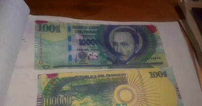 La Nación / Policía alerta ante circulación de billetes entintados producto de asalto a cajeros