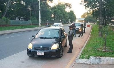 Caminera sancionó a 240 conductores en estado etílico